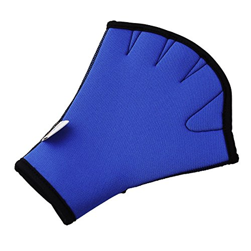 Fantastic Prices! YOOKOON Swim Gloves Aquatic Fitness Water Resistance Training Aqua Fit Webbed Glov...