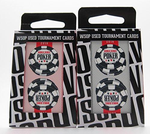 Copag Set of 2 Authentic Decks Dealt at WSOP Used Plastic Playing Cards Bridge Standard Index