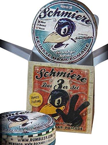 Schmiere - Lot de 3 pommade dur – Pommade from Rumble59.