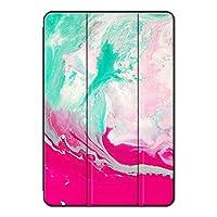 Sepikey iPad mini 4/iPad mini タブレットケース,3つ折り スタンド機能付き 耐衝撃性 指紋防止 PUレザー&PC アンチドロップ 三つ折りブラケット カバー iPad mini 4/iPad mini Case-マーブル21