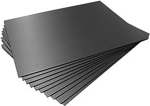 【国産10枚入】プラダンシート 黒 幅450mm ×長600mm 厚3mm