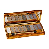 Eyeshadow 13 Colors Matte Nude Makeup Eyeshadow Waterproof Non-Smudge Makeup Lazy Eyeshadow Palette(5#)