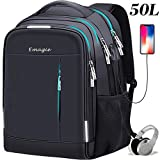Business Laptop Backpack Travel USB Anti-theft College bag with USB Charging Port Headphone