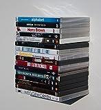 WELLER Blue BLU-Ray de DVD de Game de estantería, Lounge de Loft de diseño, Soporte de Pared de Consola de Panel Invisible flotando