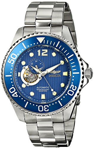 """Invicta Men's 15388 """"Pro Diver"""" Stainless Steel Automatic Watch"""