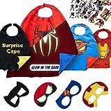 Dropplex Superhelden Kostüm für Kinder - Kleinkind Superhelden Party Outfit - Spielzeug für...