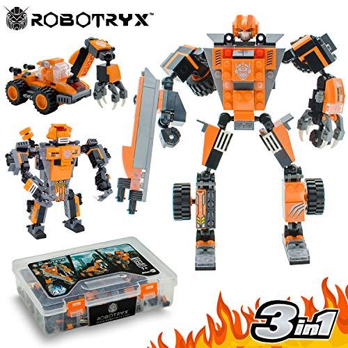 Juguete Robot Stem | Divertido Juego Creativo 3 en 1 | Juguetes de construcción...
