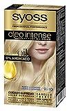 Syoss Oleo Intense - Tono 9-10 Rubio Luminoso – Coloración permanente sin amoníaco – Resultados de peluquería – Cobertura profesional de canas