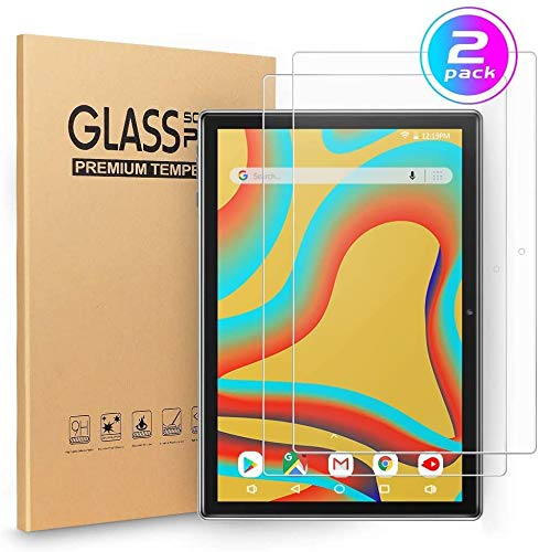 (2 Pack) VANKYO Glass Screen Protector for Vankyo MatrixPad S30 Tablet 10 inch, Tempered Glass High Definition/Scratch Resistant