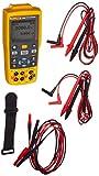 Fluke 712B RTD Temperature Calibrator, Yellow/Brown/Black/Red...