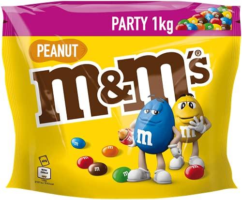 M&M's Peanut Chocolate Party Bulk Bag, Chocolate Gifts & Movie Night...