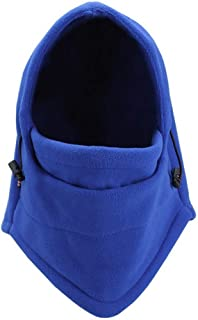 WillowswayW Unisex Outdoor Winter Scarf Full Face Mask Game Warm Cap Windproof Mask- Blue