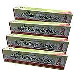 4er Pack Alpenkräuter Balsam mit Weinlaub |...