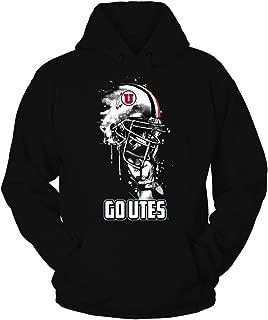 FanPrint Utah Utes T-Shirt - Rising Helmet
