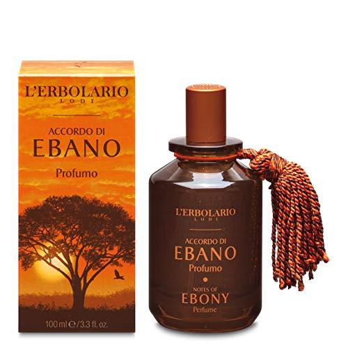 L'Erbolario - Notes Of Ebony - Perfume Spray for Men - Citrus, Woody Scent - Vigorous & Irresistible Fragrance with Ebony Extract - Cruelty Free, 3 oz