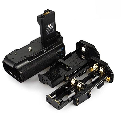 DSTE Pro - Batería para empuñadura de cámaras Canon EOS XSi 450D, 500D y 1000D (equivalente a BG-E5)