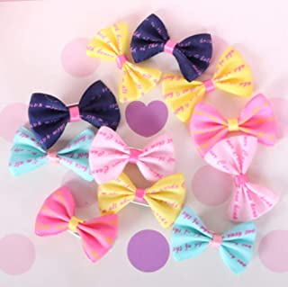 CoCocina New Dog Hair Bows Topknot Small Bowknot with Clip Top Quality Pet Grooming Products Decoration