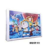 SJZLMB 1016 Piezas Puzzle Adultos Puzzle 1000 Piezas Rompecabezas Adultos Rompecabezas Regalo de los niños-Azul Cielo 003 Doraemon
