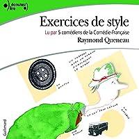 Exercices de style livre audio