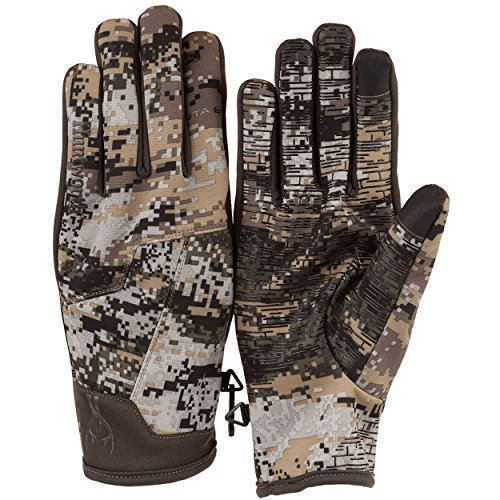 Huntworth Men's Light Weight, Hybrid Hunting Gloves, Disruption Camo