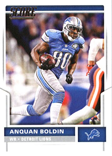 2017 Score #149 Anquan Boldin Detroit Lions Football Card