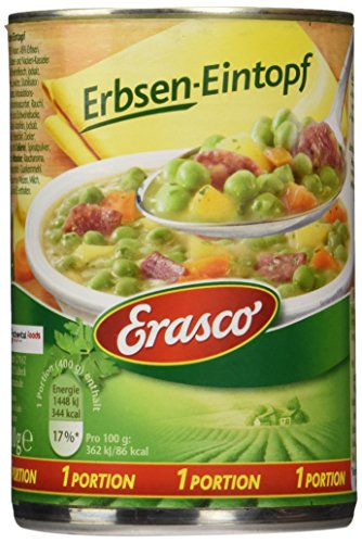 Erasco Erbsen-Eintopf , 3er Pack (3 x 400 g Dose)
