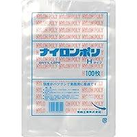 福助工業 ナイロンポリ Hタイプ規格袋 No.10B (200枚)巾170×長さ250mm