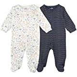 Mothernest Baby Boys' Footed Pajamas Sleeper 3...