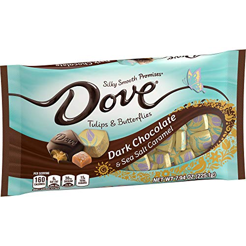 image of Dove Caramel Sea Salt Dark Chocolate