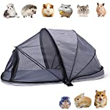 Bingoo Foldable Pet Camping Tent Outdoor Cat Pen with Cover Mesh Dog Tent Enclosure Rabbit Hutch Rat Run Cage Portable PlayHouse Travel Guinea-pig Playpen