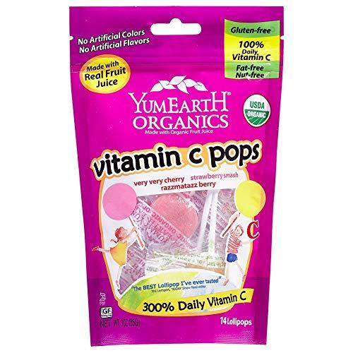 Yummy Earth Vitamin C Lollipop  6x3 Oz