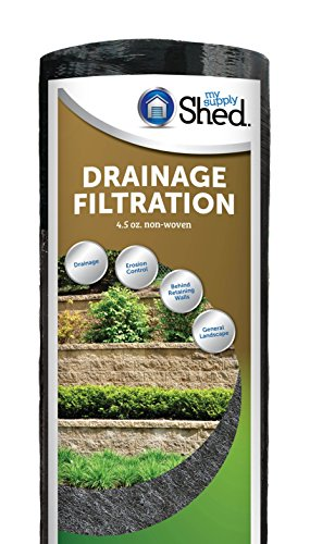 My Supply Shed Drainage & Filtration Landscape Fabric (4.5oz)