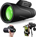 Best Monoculars - Upgraded 12x42 Monocular Telescope for Adults,LDSOYIA Waterproof HD Review