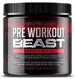 Pre Workout Beast (Sabor Frutas del Bosque) - Suplemento Potente pre-Entreno con...