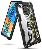 Ringke Fusion-X Diseñado para Funda Xiaomi Redmi Note 9 Pro (2020), Carcasa Redmi Note 9S, Parachoque Resistente Impactos Funda Redmi Note 9S / Redmi Note 9 Pro (6.67 Pulgadas) - Ticket Band