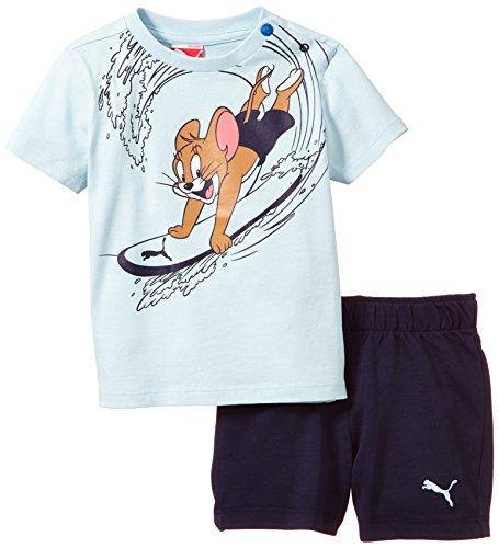 PUMA Baby Set Fun Tom und Jerry Junior, Omphalodes-Peacoat, 92