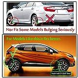 Sin logotipo XFC-NI, ajuste para Renault Megane Kwid Captur Clio Kadjar Espace Scala Zoe Laguna Set universal de guardabarros aletas de barro y guardabarros