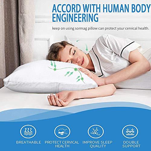 Sampri Memory Foam Cervical Medical Pillow for Sleeping - 24