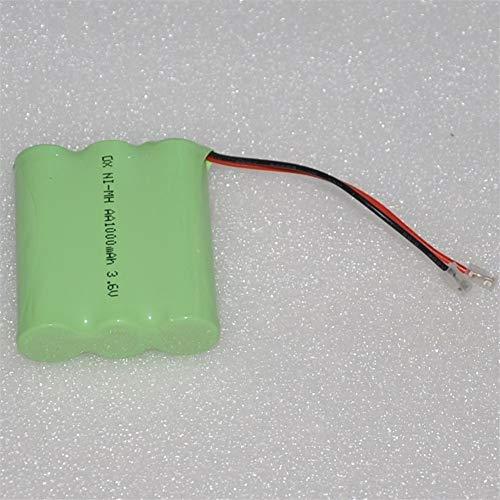QianHaoQJu XW-Battery, 3.6V AA Akku 1000mAh 2A NiMH-NiMH-Batterien NI-MH-Zelle for RC Spielzeug Notlicht Schnurlostelefon (Size : 1PCS)