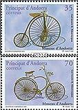 Prophila Collection Andorra - españolas Correos 257-258 (Completa.edición.) 1998 Bicicletas (Sellos para los coleccionistas) Bicicletas