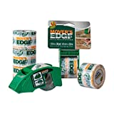 Duck Mover's Edge Heavy Duty Packing Tape, 2 Tape Dispensers and 6 Rolls