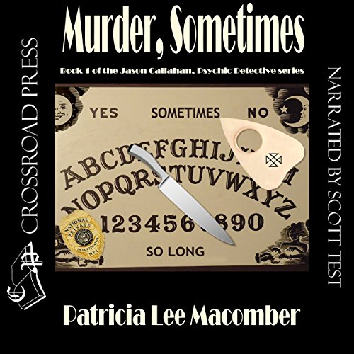 Murder, Sometimes audiobook cover art