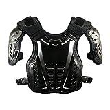 コミネ(KOMINE) バイク 胸部プロテクター チェストガード ブラック フリー 04-600 SK-600
