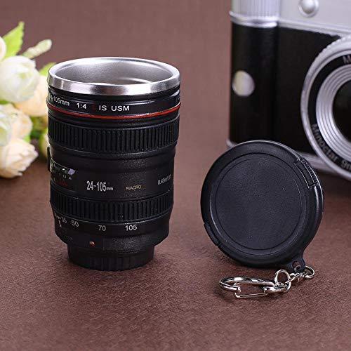 50ml cámara creativa lente taza mini té botella de agua Home Drinkware