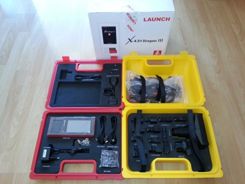 LAUNCH EUROPE X-431 DIAGUN III DIAGNOSEGERÄT GARANTIE + ADAPTERSET IM KOFFER neues Modell - All-In-One-Outlet-24 - Offizeller LAUNCH Partner WOW