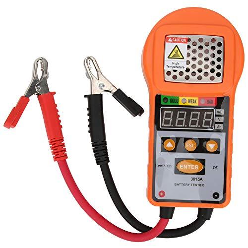 5Ah ~ 80Ah Battery Tester Controllo batteria per 6V 12V Test capacità batteria al piombo-acido Strumento diagnostico analizzatore di resistenza interna