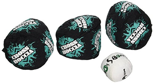 Boccia CROSSBOCCIA®-Set Design, 3 Spielbälle + 1 Zielball, smashed