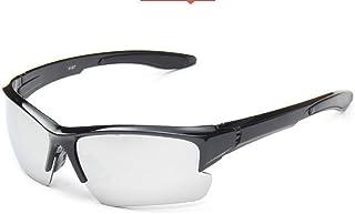 46f54f201c Embryform Gafas de Seguridad, Marco Negro, Transparente UV Extreme
