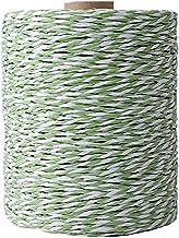 Werfststro Raffia Garen DIY Knit Garen Haak Zonhoed Garen Cellulose Garen Gift Verpakking Garen (Color : Green White)