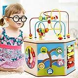 PhantomSky 8 と 1 プレイセンターシリーズ 知育ボックス キッズおもちゃ 赤ちゃんの木の玩具 非常に素晴らしいギフト